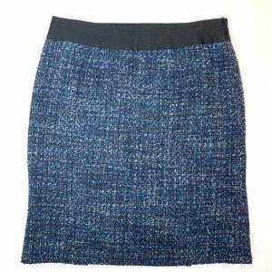 Nanette lepore Wool tweed skirt size 8